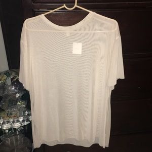 See through loose slots on side shirt